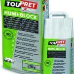 Toupret. traitement des surfaces endommagées par l'humidité
