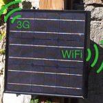 2iser, Borne Internet solaire autonome pour l'extérieur