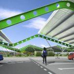 Parc photovoltaïque urbain de Bordeaux-Lac