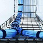 Cablofil, un chemin de câble léger en fil d'acier, facile à implanter