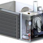 Aircalo, aérotherme gaz à condensation à fluide caloporteur