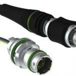 Fischer Connectors, connecteur hybride fibre optique/contacts électriques