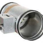 Panol, claquet coupe-feu DAS pour conduits circulaires de 100 à 355 mm