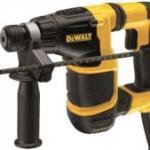 DeWalt, renouvelle et complète sa gamme de marteaux-perforateurs
