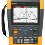 Fluke, oscilloscopes portables 2 et 4 voies certifié CAT III 1000 V / CAT IV 600 V