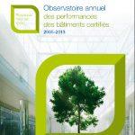 Certivéa, 1ère Édition de l'Observatoire des performances des bâtiments tertiaires certifiés NF HQETM