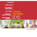Le catalogue 2015 des formations du CSTB est disponible