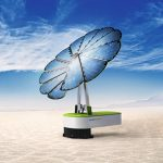 La smartflower™ d'EDF ENR permet de produire et de consommer son électricité photovoltaïque