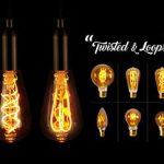 Gamme d'ampoules à filament LED torsadé