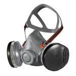 Demi-masque sans silicone pour une protection respiratoire complète