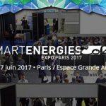 Smart Energies 2017 les 6 et 7 juin 2017 : demain l'énergie