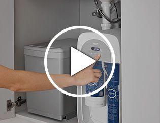 Unité réfrigérante pour une eau plate ou gazeuse