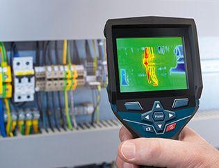 Caméra thermique connectée, détection et visualisation optimales