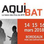 Aquibat 2018 – Le salon des pros du BTP