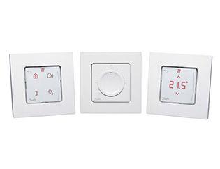 Thermostats pour le chauffage par le sol hydraulique