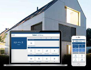 Nouveau système de commande domotique pour maison intelligente
