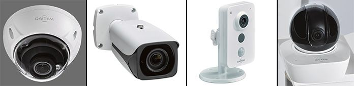 Caméras de vidéoprotection