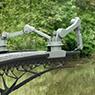 Pont à Amsterdam imprimé en 3D